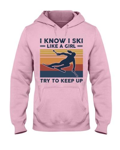 I Know I Ski Like A Girl - Skiing