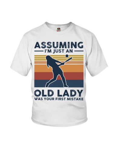 Assuming I'm Just An Old Lady - Baseball