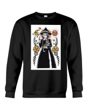 Witch Art Print Crewneck Sweatshirt thumbnail