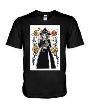 Witch Art Print V-Neck T-Shirt thumbnail
