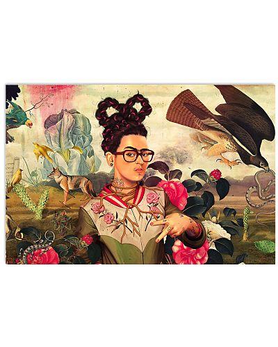 Frida Kahlo Hipster Nature