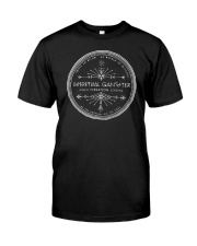 Spiritual Gangster High Vibration Living Classic T-Shirt front