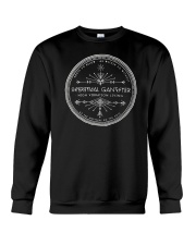 Spiritual Gangster High Vibration Living Crewneck Sweatshirt thumbnail