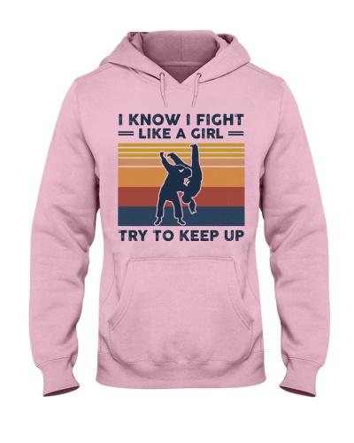 I Know I Fight Like A Girl - Judo Retro
