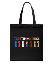Together We Rise Tote Bag thumbnail