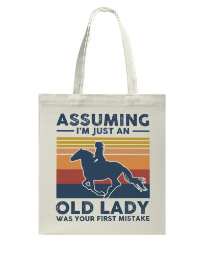 Assuming I'm Just An Old Lady - Horse Riding