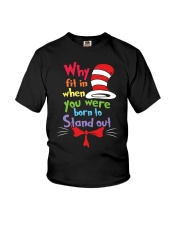 Why Fit In When You Were Born To Stand Out Youth T-Shirt thumbnail