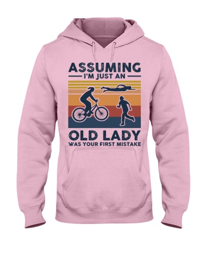 Assuming I'm Just An Old Lady - Triathlon Retro