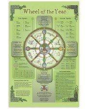 Wheel Of The Year 11x17 Poster front