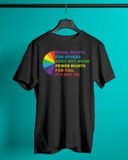 Equal Rights For Others Does Not Mean Fewer Rights Classic T-Shirt lifestyle-mens-crewneck-front-3