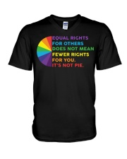 Equal Rights For Others Does Not Mean Fewer Rights V-Neck T-Shirt thumbnail