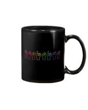 Feminist Sign Language Colourful Mug thumbnail