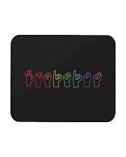 Feminist Sign Language Colourful Mousepad thumbnail