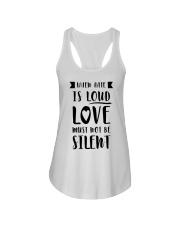 When Hate Is Loud Love Must Not Be Silent Ladies Flowy Tank thumbnail