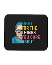 Fight for The Things You Care About Watercolor Mousepad thumbnail