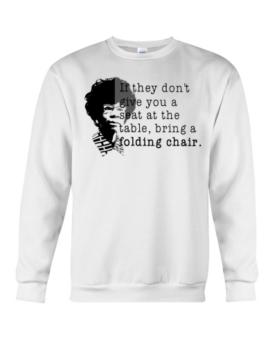 Folding Chair Quote Shirley Chisholm