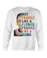 RBG - Fragile Like A Bomb Crewneck Sweatshirt thumbnail