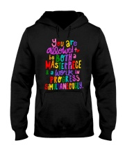 You Are Allowed  Hooded Sweatshirt thumbnail