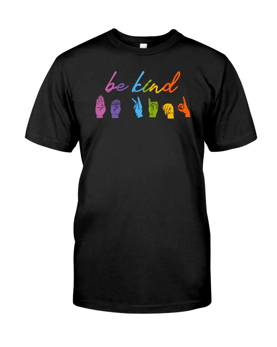Be Kind Sign Language Classic T-Shirt