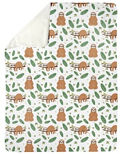 """Sloth 4 Quilts and Blankets Large Sherpa Fleece Blanket - 60"""" x 80"""" thumbnail"""