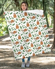 """Sloth 4 Quilts and Blankets Quilt 40""""x50"""" - Baby aos-quilt-40x50-lifestyle-front-04"""