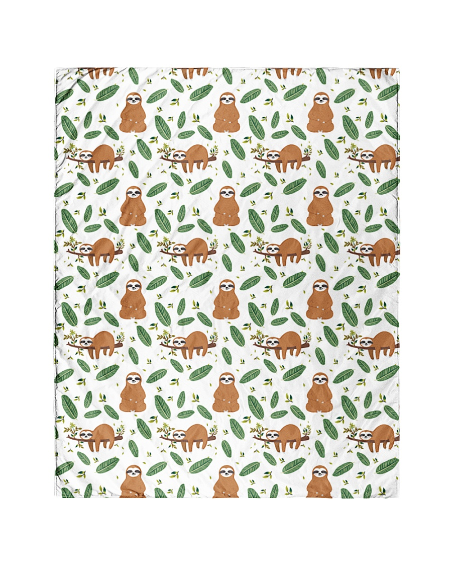 """Sloth 4 Quilts and Blankets Quilt 40""""x50"""" - Baby"""