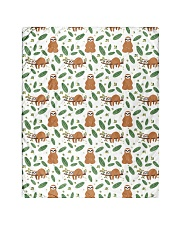 """Sloth 4 Quilts and Blankets Quilt 40""""x50"""" - Baby front"""