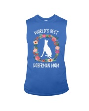WORLD'S BEST DOBERMAN MOM TSHIRT Sleeveless Tee thumbnail