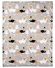 "Corgi 35 Quilts and Blankets Small Fleece Blanket - 30"" x 40"" thumbnail"