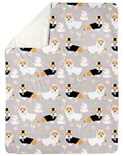 "Corgi 35 Quilts and Blankets Large Sherpa Fleece Blanket - 60"" x 80"" thumbnail"