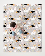 """Corgi 35 Quilts and Blankets Quilt 40""""x50"""" - Baby aos-quilt-40x50-lifestyle-front-06"""