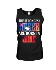 THE STRONGEST MAGES ARE BORN IN JUNE Unisex Tank thumbnail