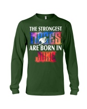 THE STRONGEST MAGES ARE BORN IN JUNE Long Sleeve Tee thumbnail