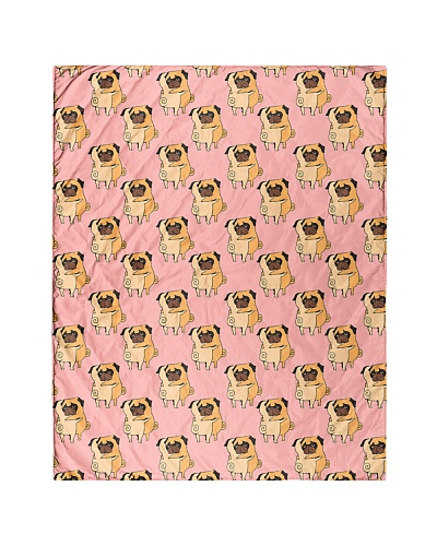 Pug 49 Quilts and Blankets