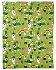 "Corgi 14 Quilts and Blankets Small Fleece Blanket - 30"" x 40"" thumbnail"