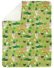 "Corgi 14 Quilts and Blankets Large Sherpa Fleece Blanket - 60"" x 80"" thumbnail"