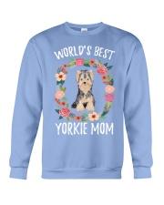 YORKIE MOM Crewneck Sweatshirt thumbnail