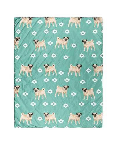 Pug 14 Quilts and Blankets