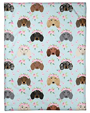 """Dachshund 13 Quilts and Blankets Small Fleece Blanket - 30"""" x 40"""" thumbnail"""