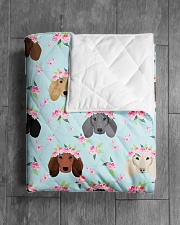"""Dachshund 13 Quilts and Blankets Quilt 40""""x50"""" - Baby aos-quilt-40x50-lifestyle-closeup-front-04"""