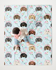 """Dachshund 13 Quilts and Blankets Quilt 40""""x50"""" - Baby aos-quilt-40x50-lifestyle-front-06"""