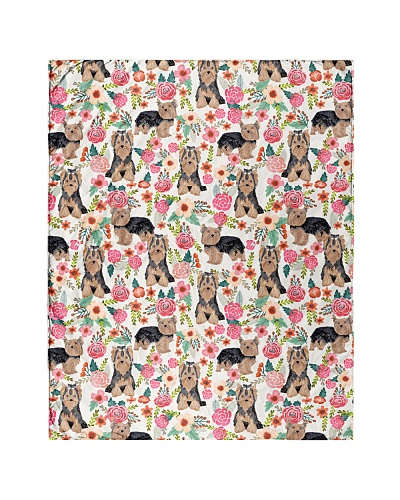 Yorkie Yorkshire Terrier 2 Quilts and Blankets