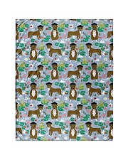 """Pitbull 9 Quilts and Blankets Quilt 40""""x50"""" - Baby front"""