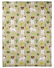 """Jack Russell Terrier 5 Quilts and Blankets Small Fleece Blanket - 30"""" x 40"""" thumbnail"""
