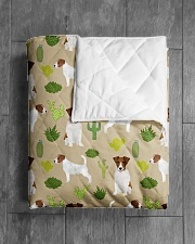 """Jack Russell Terrier 5 Quilts and Blankets Quilt 40""""x50"""" - Baby aos-quilt-40x50-lifestyle-closeup-front-04"""