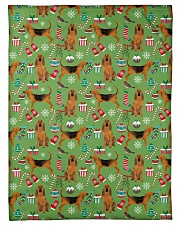 """Bloodhound 3 Quilts and Blankets Small Fleece Blanket - 30"""" x 40"""" thumbnail"""