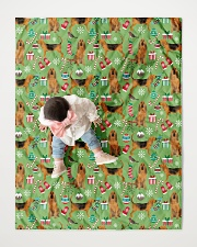 """Bloodhound 3 Quilts and Blankets Quilt 40""""x50"""" - Baby aos-quilt-40x50-lifestyle-front-06"""