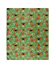 """Bloodhound 3 Quilts and Blankets Quilt 40""""x50"""" - Baby front"""