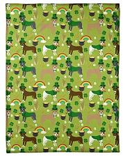 "Pitbull Irish St Patrick Day Quilts and Blankets Small Fleece Blanket - 30"" x 40"" thumbnail"