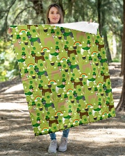 """Pitbull Irish St Patrick Day Quilts and Blankets Quilt 40""""x50"""" - Baby aos-quilt-40x50-lifestyle-front-04"""
